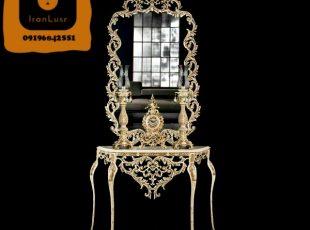 آینه و شمعدان آلومینیومی کد (11)