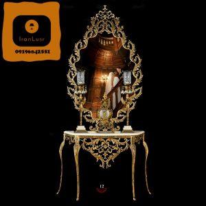 آینه و شمعدان آلومینیومی کد (12)