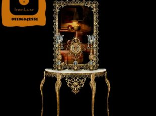 آینه و شمعدان آلومینیومی کد (13)