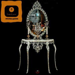 آینه و شمعدان آلومینیومی کد (22)