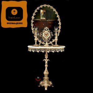 آینه و شمعدان آلومینیومی کد (31)