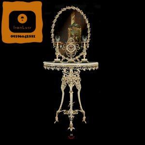 آینه و شمعدان آلومینیومی کد 35
