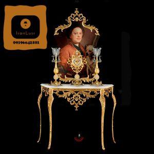 آینه و شمعدان آلومینیومی کد 5