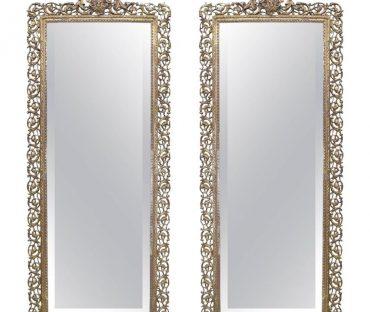 آینه تک برنزی