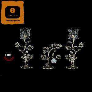 شمعدان آلومینیومی کد (100)