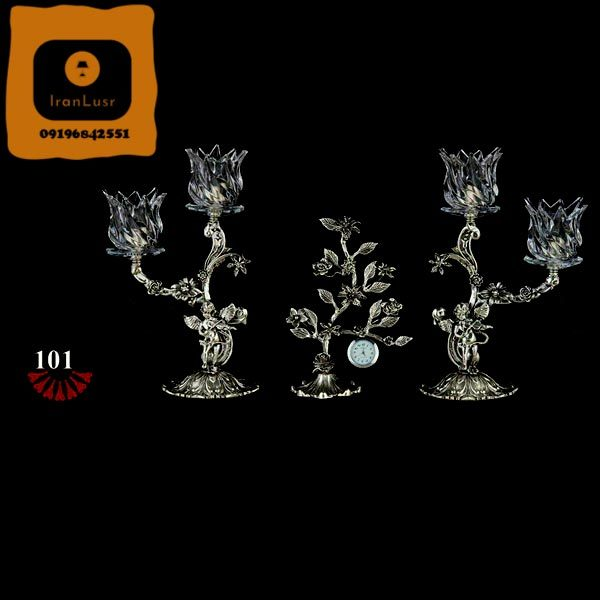 شمعدان آلومینیومی کد (101)