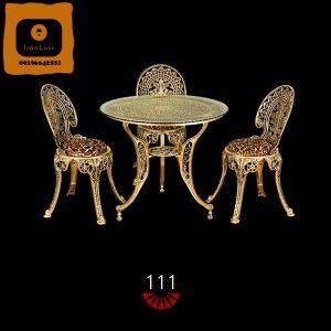 میز ناهار خوری آلومینیومی کد (111)