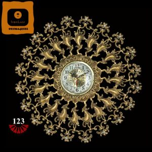 ساعت آلومینیومی کد ۱۲۳