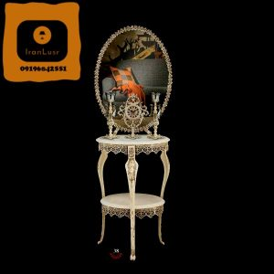 آینه و شمعدان آلومینیومی کد 38