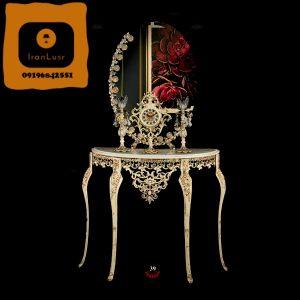 آینه و شمعدان آلومینیومی کد 39