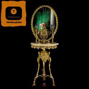 آینه و شمعدان آلومینیومی کد 40