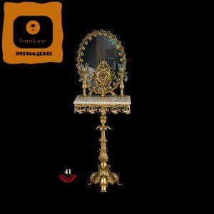 آینه و شمعدان آلومینیومی کد 41
