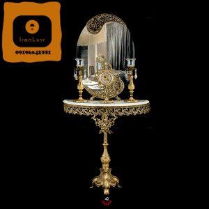 آینه و شمعدان آلومینیومی کد 42