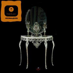 آینه و شمعدان آلومینیومی کد 49