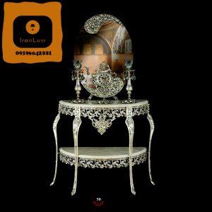 آینه و شمعدان آلومینیومی کد 50