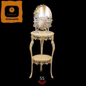 آینه و شمعدان آلومینیومی کد (55)