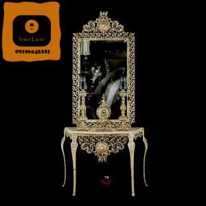 آینه و شمعدان آلومینیومی کد (79)