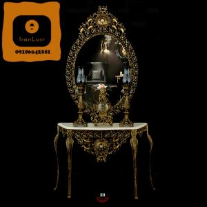 آینه و شمعدان آلومینیومی کد (80)