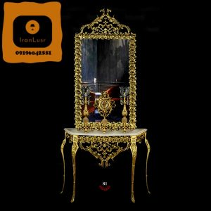 آینه و شمعدان آلومینیومی کد (81)