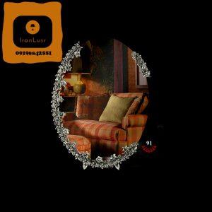 آینه و شمعدان آلومینیومی کد (91)