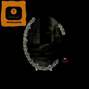 آینه و شمعدان آلومینیومی کد (92)