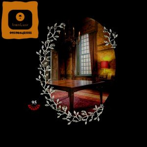 آینه و شمعدان آلومینیومی کد (95)