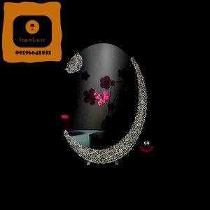 آینه و شمعدان آلومینیومی کد (99)