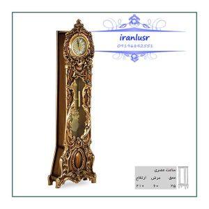 ساعت ایستاده چوبی مصری