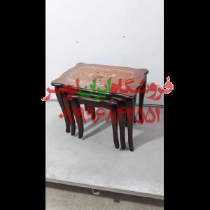 میز عسلی معرق