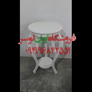 میز چوبی مدل چشمی