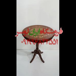 میز چوبی معرق
