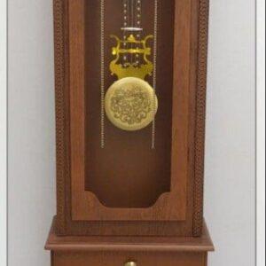 ساعت ایستاده کنارسالنی چوبی مدل رادین کد 253