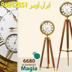 ساعت ایستاده کنارسالنی چوبی مدل شوبرت کد 6680