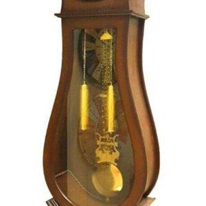 ساعت ایستاده کنارسالنی چوبی مدل خورشیدی
